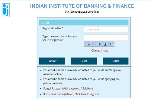 download csc iibf exam admit card